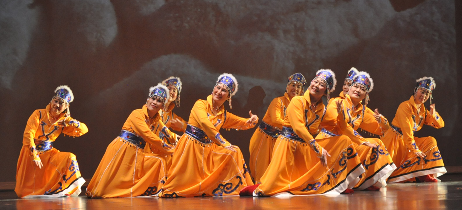 Photo of the Mongolian Dance.